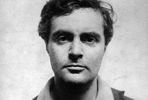 Amedeo Modigliani 1884-1920 / Italiensk - kunstmaler, skulptør og tegner - hadde sin styrke i linjen - lineær- og flatpreget portrettkunst - varm koloritt
