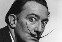Salvador Dali 1904-1989 / Spansk - mest kjent for surrealistiske malerier