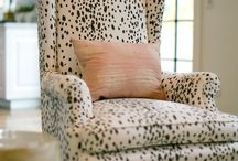 Get Ready to Reupholster! / We love seeing vintage furniture transformed with modern fabrics!