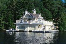 Floating houses (plywajace domy)