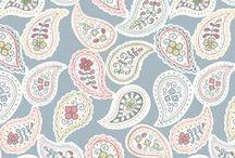 Timsbury Lane / Lewis & Irene - 'Timsbury Lane' fabric collection. www.lewisandirene.com