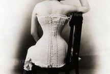 corsets / vintage corsets photo's