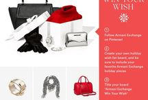 Armani Exchange Win Your Wish / Gifts for me and for my loved ones