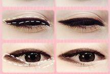 Maquillaje de ojos. / Maquillajes