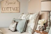 Guest Bedroom / Welcoming, inviting, and homey for our guests