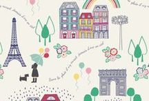 April Showers / Lewis & Irene - 'April Showers' fabric collection. Spring 2015