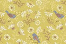 A Little Bird Told me / Lewis & Irene - A Little Bird Told Me - Spring/Summer '15 fabric collection