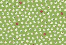Our Friends in the Garden / Lewis & Irene - Our Friends in the Garden fabric collection - Spring/Summer '15