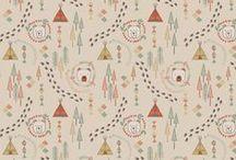 Big Bear Little Bear / Lewis & Irene - 'Big Bear Little Bear' fabric collection - Autumn/Winter 2015