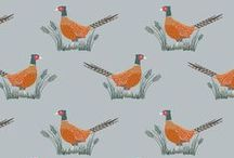 Country Life / Lewis & Irene - 'Country Life' fabric collection - Autumn/Winter 2015