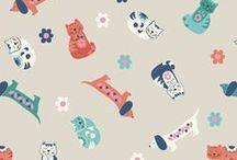 Sam & Mitzi / Lewis & Irene - 'Sam & Mitzi' fabric collection - Autumn/Winter 2015