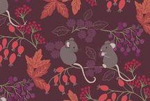 Autumn Fields / Lewis & Irene - 'Autumn Fields' fabric collection - Autumn/Winter  2015