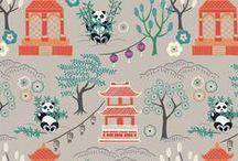 Minshan / Lewis & Irene - 'Minshan' fabric collection - Spring/Summer 2016