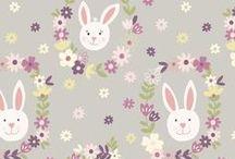 Bunny Garden / Lewis & Irene - 'Bunny Garden' fabric collection - Spring/Summer 2016