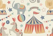 Vintage Circus / Lewis & Irene - 'Vintage Circus' fabric collection - Spring/Summer 2016