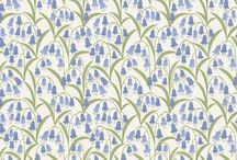 Bluebell Wood / Lewis & Irene - 'Bluebell Wood' fabric collection - Spring/Summer 2016