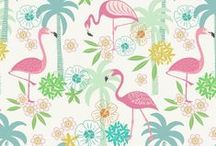 Tropicana / Lewis & Irene - 'Tropicana' fabric collection - Spring/Summer 2016