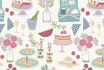 Picnic in the Park / Lewis & Irene - 'Picnic in the Park' fabric collection - Spring/Summer 2016