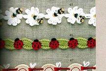 Crochet edging and borders