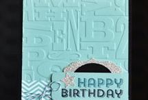 STAMPIN UP BIRTHDAY