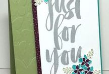 STAMPIN UP JUST FOR YOU