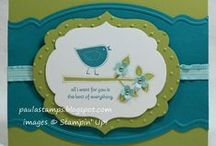 STAMPIN UP BIRDS