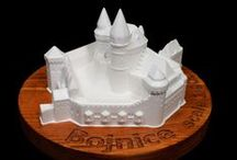 Bojnicky zamok / 3D model bojnickeho zamku