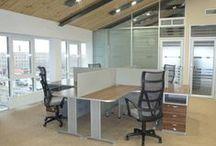 Офисная мебель на заказ / В разделе выложены фотографии различной офисной мебели (для руководителей, для персонала, шкафы, столы и прочее), изготовленной на нашей фабрике по индивидуальным заказам.