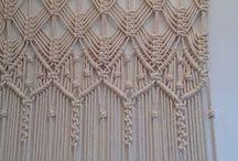 Macramé curtains
