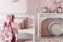 Розовый в интерьере / Все оттенки розового цвета в ваших интерьерах. Lover Pink!