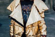 Metallics / Fashionable edginess