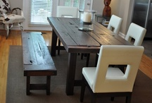 The Clayton Rustic Distressed Farm Home Dining Table