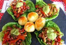 Ensaladas , verduras y entrantes