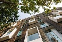 + A + RESIDENTIAL BUILDINGS+ / architecture, residential buildings, social residential, resi, facades, balconies, loggias, residential complex