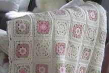 háčkované deky / crocheted blankets