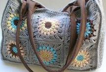 háčkované tašky / crocheted bags