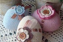 háčkování - velikonoce  /  crochet - Easter