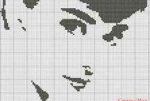 vyšívání - cross stitch