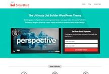 WordPress Themes / Best of the responsive WordPress Themes.