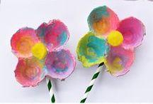 Basteltipps für den Kindergarten / Hier finden Sie zahlreiche Basteltipps für Kinder ab drei Jahren.
