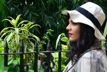1950s Classic Look / my shoot ! my styling! my model ! just 1950s cap , umbrella , coat look !