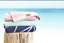 HAWKE & THORN beach / yoga towels / Super absorbent yet lightweight towels, exciting patterns and bright colours. www.hawkeandthorn.com