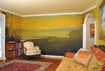 Art - Murals and Faux Finishes / by Beth Stone