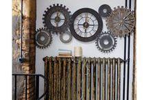 Industriel / Révolutionnez votre intérieur avec nos produits de style industriel : canapé, table, chaise ou objets déco.