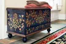 Art - Blanket Chests / by Beth Stone