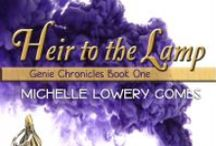 """Heir to the Lamp / """"A family secret, a mysterious lamp, a dangerous Order with the mad desire to possess both!""""  Book one of the Genie Chronicles HEIR TO THE LAMP coming out July 16, 2013!"""