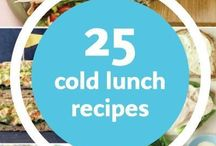 Lunches / Lunch inspiration