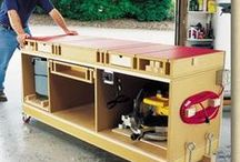 Shop organization & Tools / by Les Bouton
