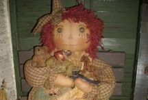 Raggedy Annies / by Debbie Miller Smith