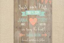 Dream wedding/INVITATIONS